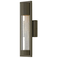 Mist 1 Light 16 inch Bronze Outdoor Wall Mount