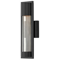 Mist 1 Light 16 inch Satin Black Outdoor Wall Mount