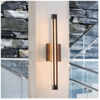 Hinkley 12314BZ Vue LED 26 inch Bronze Outdoor Wall Mount, White Acrylic Panels alternative photo thumbnail