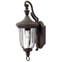 Hinkley Lighting Oxford 1 Light Outdoor Wall Lantern in Midnight Bronze 1240MN