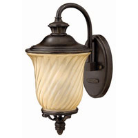Hinkley Lighting San Mateo 1 Light Outdoor Wall Lantern in Regency Bronze 1250RB photo thumbnail