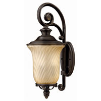 Hinkley Lighting San Mateo 3 Light Outdoor Wall Lantern in Regency Bronze 1254RB