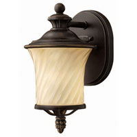 Hinkley Lighting San Mateo 1 Light Outdoor Wall Lantern in Regency Bronze 1256RB