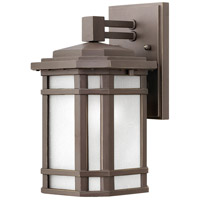 Cherry Creek 1 Light 11 inch Oil Rubbed Bronze Outdoor Wall Mount
