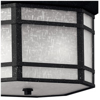 Hinkley 1273VK Cherry Creek 2 Light 12 inch Vintage Black Outdoor Flush Mount in Incandescent alternative photo thumbnail