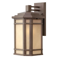 Hinkley Lighting Cherry Creek 1 Light Outdoor Wall Lantern in Oil Rubbed Bronze 1274OZ-ESDS photo thumbnail