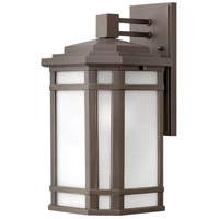 Hinkley 1274OZ-WH Cherry Creek 1 Light 15 inch Oil Rubbed Bronze Outdoor Wall Mount in Incandescent
