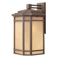 Hinkley Lighting Cherry Creek 1 Light Outdoor Wall Lantern in Oil Rubbed Bronze 1275OZ-ESDS
