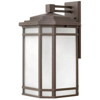 Hinkley 1275OZ-WH Cherry Creek 1 Light 21 inch Oil Rubbed Bronze Outdoor Wall Mount