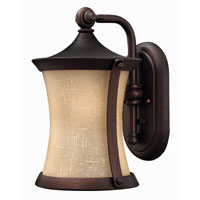 Hinkley Lighting Thistledown 1 Light Outdoor Wall Lantern in Victorian Bronze 1280VZ-ES