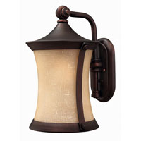 Hinkley Lighting Thistledown 1 Light Outdoor Wall Lantern in Victorian Bronze 1284VZ-DS photo thumbnail