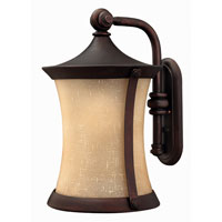 Hinkley Lighting Thistledown 1 Light Outdoor Wall Lantern in Victorian Bronze 1285VZ-ESDS