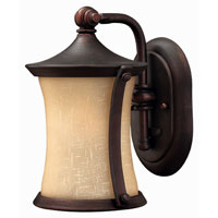 Hinkley Lighting Thistledown 1 Light Outdoor Wall Lantern in Victorian Bronze 1286VZ-DS photo thumbnail