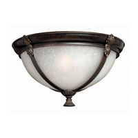 Hinkley Quebec Flush Outdoor in Iron Bronze 1293IB-ES