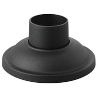 Signature 4 inch Black Outdoor Pier Mount, fits standard 3