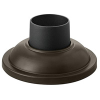 Hinkley 1304BZ Signature 4 inch Bronze Outdoor Pier Mount, fits standard 3