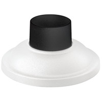 "Hinkley 1304CW Signature 4 inch Classic White Outdoor Pier Mount fits standard 3"" diameter Post Cup"
