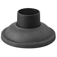 Hinkley 1304DZ Signature 4 inch Aged Zinc Outdoor Pier Mount, fits standard 3