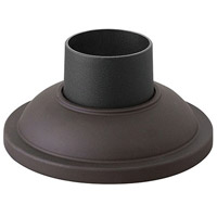 Hinkley 1304KZ Signature 4 inch Buckeye Bronze Outdoor Pier Mount, fits standard 3