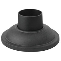 Signature 4 inch Museum Black Outdoor Pier Mount