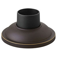 Hinkley 1304OZ Signature 4 inch Oil Rubbed Bronze Outdoor Pier Mount, fits standard 3