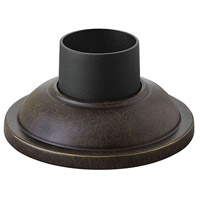 "Hinkley 1304RB Signature 4 inch Regency Bronze Outdoor Pier Mount fits standard 3"" diameter Post Cup"