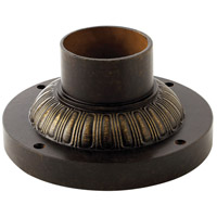 Hinkley 1307RB Post Accessory 8 inch Regency Bronze Pier Mount