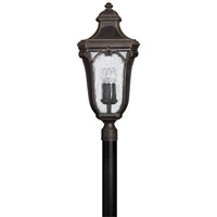 Hinkley Lighting Trafalgar 1 Light GU24 CFL Post Lantern (Post Sold Separately) in Mocha 1311MO-GU24