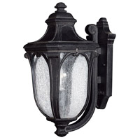 Trafalgar 1 Light 18 inch Museum Black Outdoor Wall Mount in Incandescent