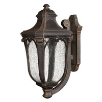 Hinkley Lighting Trafalgar 1 Light Outdoor Wall Lantern in Mocha 1314MO-ES