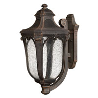 Hinkley Lighting Trafalgar 1 Light Outdoor Wall Lantern in Mocha 1314MO-EST photo thumbnail