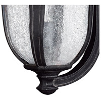 Hinkley 1314MB Trafalgar 1 Light 18 inch Museum Black Outdoor Wall Mount in Incandescent alternative photo thumbnail