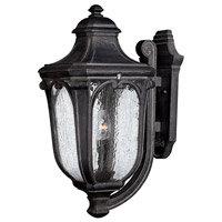 Trafalgar 3 Light 22 inch Museum Black Outdoor Wall Lantern in Incandescent