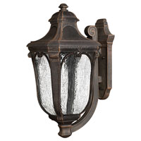Hinkley Lighting Trafalgar 1 Light Outdoor Wall Lantern in Mocha 1315MO-EST