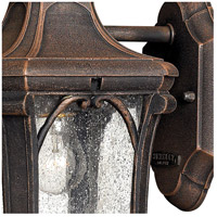 Hinkley 1316MO Trafalgar 1 Light 10 inch Mocha Outdoor Mini Wall Mount in Incandescent alternative photo thumbnail