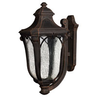 Hinkley Lighting Trafalgar 1 Light Outdoor Wall Lantern in Mocha 1319MO-ES