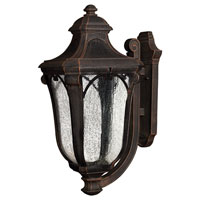 Hinkley Lighting Trafalgar 1 Light Outdoor Wall Lantern in Mocha 1319MO-EST