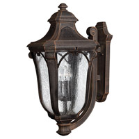 Hinkley Lighting Trafalgar 1 Light GU24 CFL Outdoor Wall in Mocha 1319MO-GU24