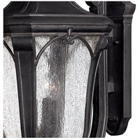 Hinkley 1319MB Trafalgar 3 Light 27 inch Museum Black Outdoor Wall Mount in Incandescent alternative photo thumbnail