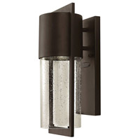 Hinkley Lighting Shelter 1 Light Outdoor Wall Lantern in Buckeye Bronze 1320KZ-LED