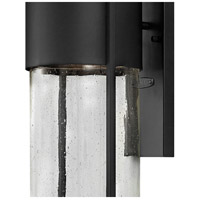 Hinkley 1320BK Shelter 1 Light 16 inch Black Outdoor Wall Mount in Incandescent alternative photo thumbnail