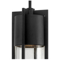Hinkley 1322BK Shelter 1 Light 6 inch Black Outdoor Hanging Light in Incandescent alternative photo thumbnail