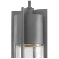 Hinkley 1322HE Shelter 1 Light 6 inch Hematite Outdoor Hanging Light in Incandescent alternative photo thumbnail