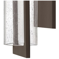 Hinkley 1324KZ Shelter 1 Light 21 inch Buckeye Bronze Outdoor Wall Mount in Incandescent alternative photo thumbnail