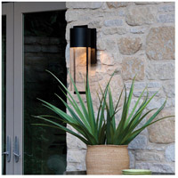 Hinkley 1325BK Shelter 1 Light 23 inch Black Outdoor Wall Mount in Incandescent alternative photo thumbnail
