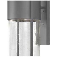 Hinkley 1325HE Shelter 1 Light 23 inch Hematite Outdoor Wall Mount in Incandescent alternative photo thumbnail