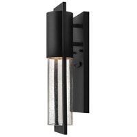Hinkley 1326BK-LL Shelter LED 16 inch Black Outdoor Mini Wall Mount