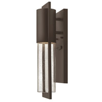 Hinkley Lighting Shelter 1 Light Outdoor Wall Lantern in Buckeye Bronze 1326KZ-LED