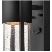 Hinkley 1326BK Shelter 1 Light 16 inch Black Outdoor Mini Wall Mount in Incandescent alternative photo thumbnail
