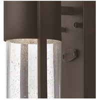 Hinkley 1326KZ Shelter 1 Light 16 inch Buckeye Bronze Outdoor Mini Wall Mount in Incandescent alternative photo thumbnail